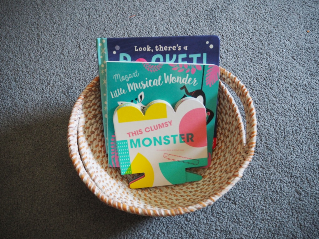 book basket early reading