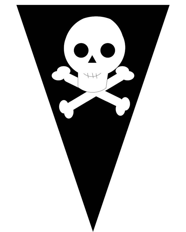 Картинки для пиратской вечеринки для детей распечатать