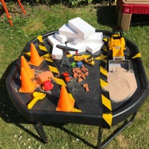 tuff spot tray construction