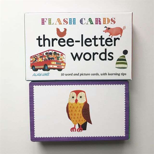 phonics flashcards • i love the illustrations but that's not the