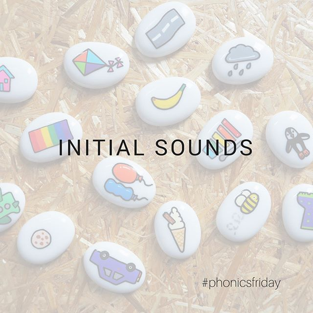 Phonics Initial Sounds • This week I've looked at initial sounds for phonics, swipe to see more.  I've just got these brilliant @imagistones and I'll be using these with my phonics activities. These are perfect for sharing and talk activities but also used to support phonics. I'll share another post with a few examples. . . . . . . #storystones #phonics #phonicsfriday #playathome #printplaylearn #iteachtoo #teachersfollowteachers #yearone #eyfs #earlyyears #phonicsfriday