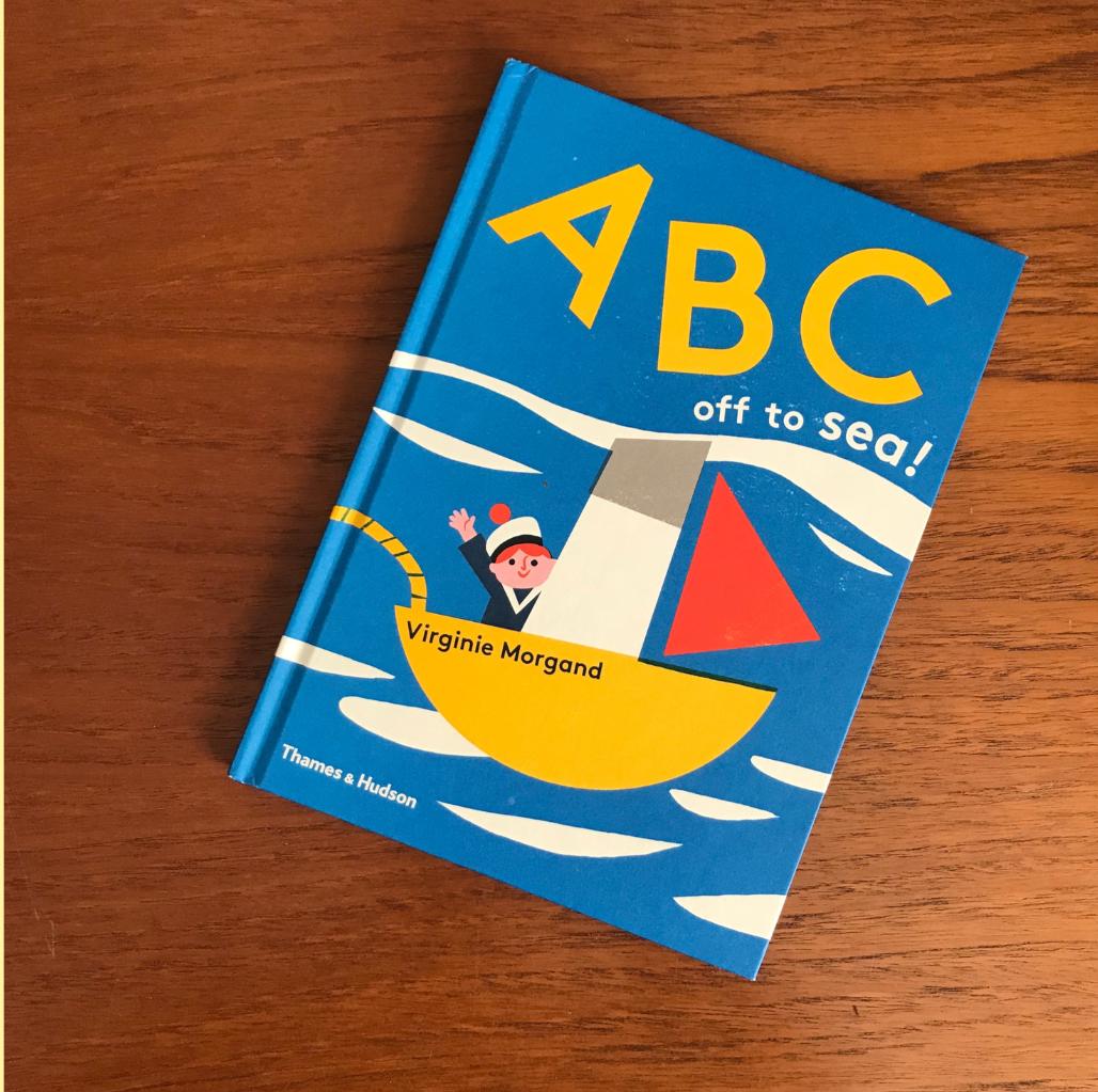 alphabet books for children ABC sea