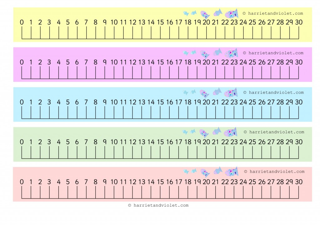 image regarding Printable Number Line 0 20 titled Selection Line + Variety Strips - Web page 2 - Cost-free Instruction