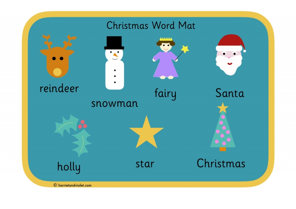 Word mat page 1 free teaching resources print play learn spiritdancerdesigns Image collections