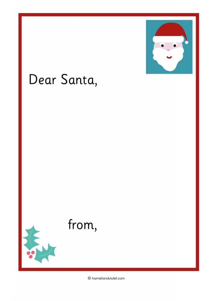 Writing a letter to father christmas free teaching resources writing a letter to santa spiritdancerdesigns Image collections