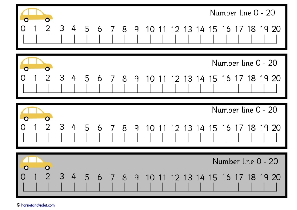 It's just a photo of Accomplished Printable Number Line to 20