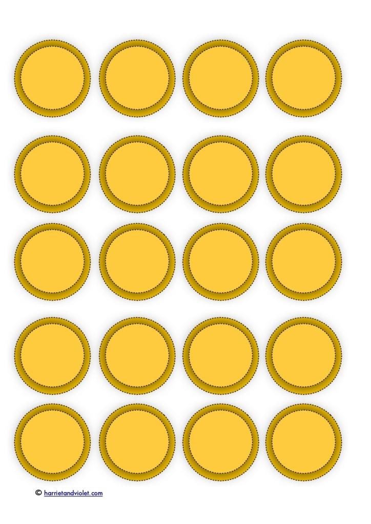 Gargantuan image with regard to coins printable