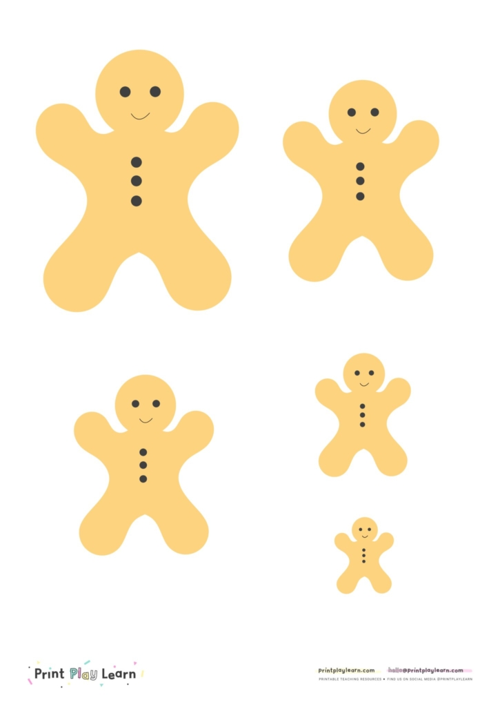 measure gingerbread man