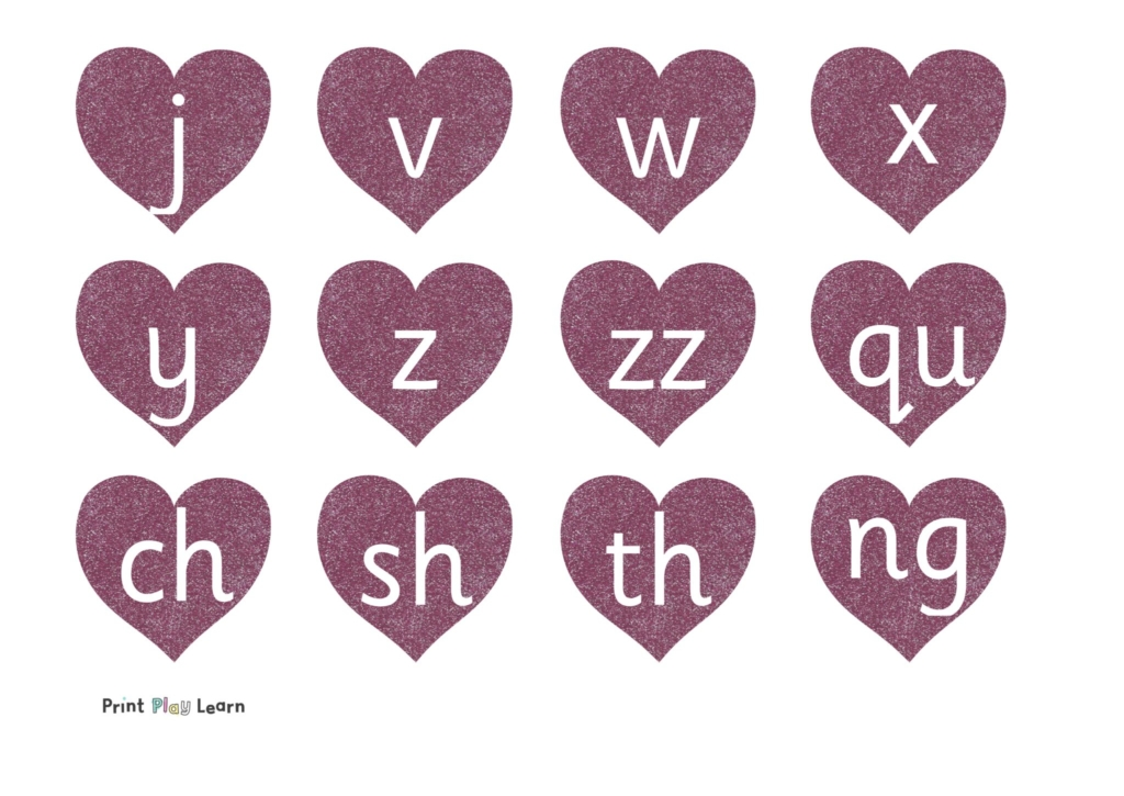 phase 3 letters and sounds hearts primary