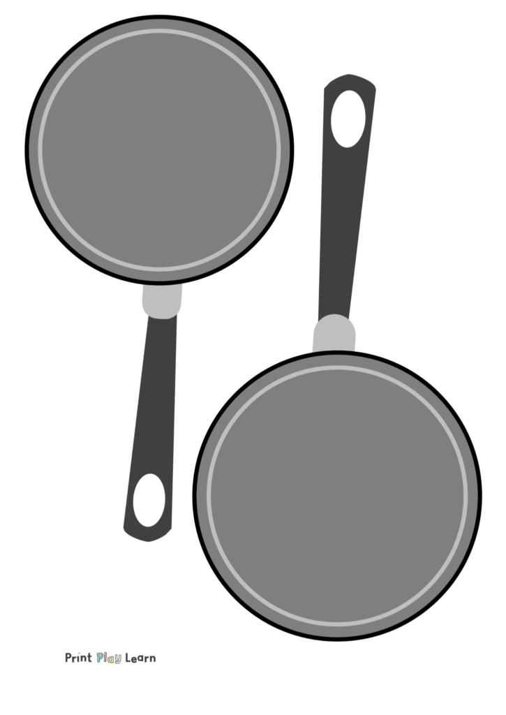 eyfs primary frying pan print out