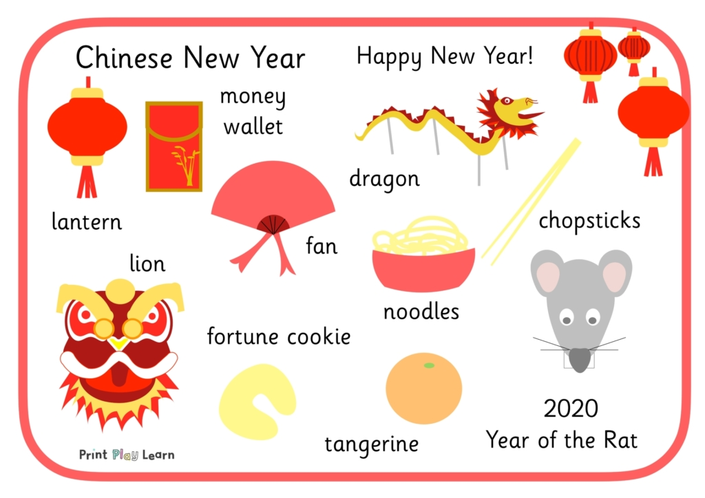 Chinese word mat 202